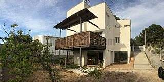 Casa en Cunit, Can molas. Avinguda rectoret,