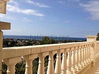 Alquiler Casa en Coma-ruga. Magn�fico chalet aislado con vista al mar comaruga Carrer santa isabel,80