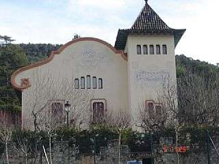 Palacete en Aiguafreda. Finca noucentista Carrer abadessa emma, 17